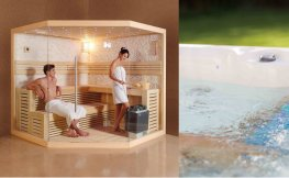 Sauna – Steam – Jaccuzi